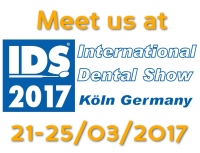 Meet us at IDS 2017 in Cologne, Germany