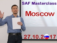 SAF masterclass in Moscow, Russia - 27.10.2017